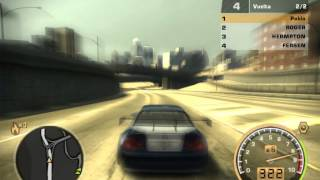 Need for speed: Most wanted 2005 - The amazing sound of the BMW M3 GTR
