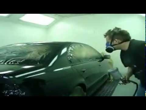 BMW 525 TDS Body Repair Work And Paint Spraying