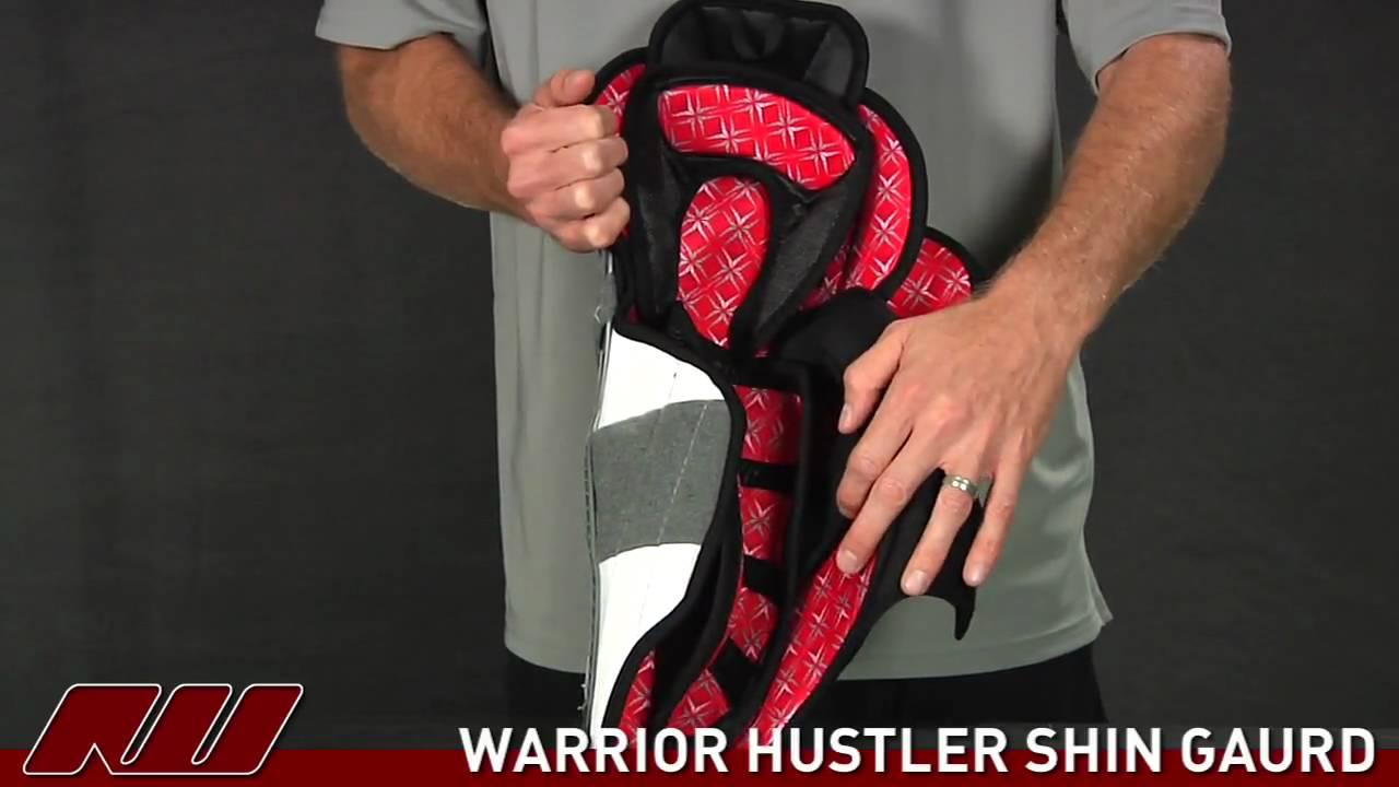 Warrior hustler shin guards