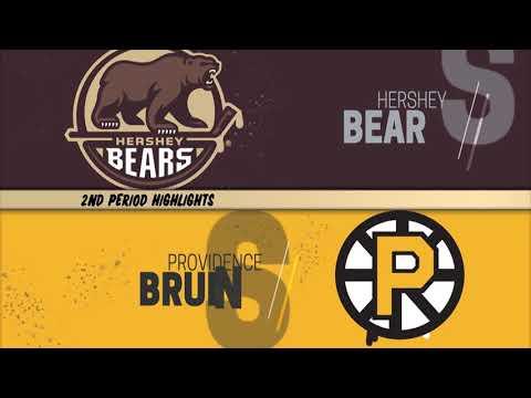 Providence Bruins 1 at Hershey Bears 2