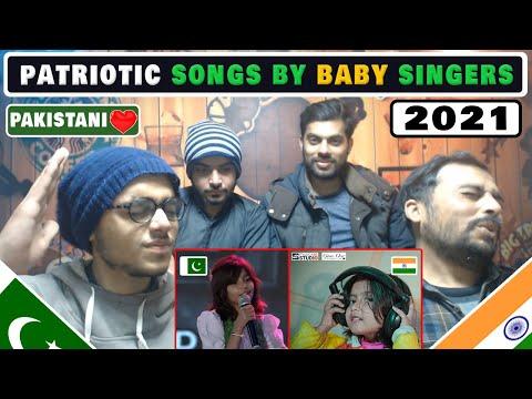 💖pak-reaction-indian-&-pakistan-baby-singer- -patriotic-songs-by-baby-singers-#patrioticsongs