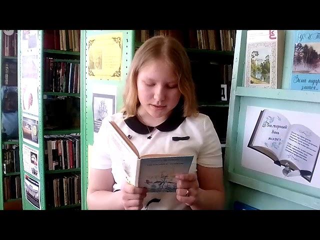 Изображение предпросмотра прочтения – ТатьянаКрашенинникова читает произведение «Уж верба вся пушистая...» А.А.Фета