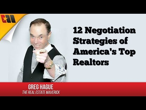 12 Negotiation Stategies of America's Top Realtors