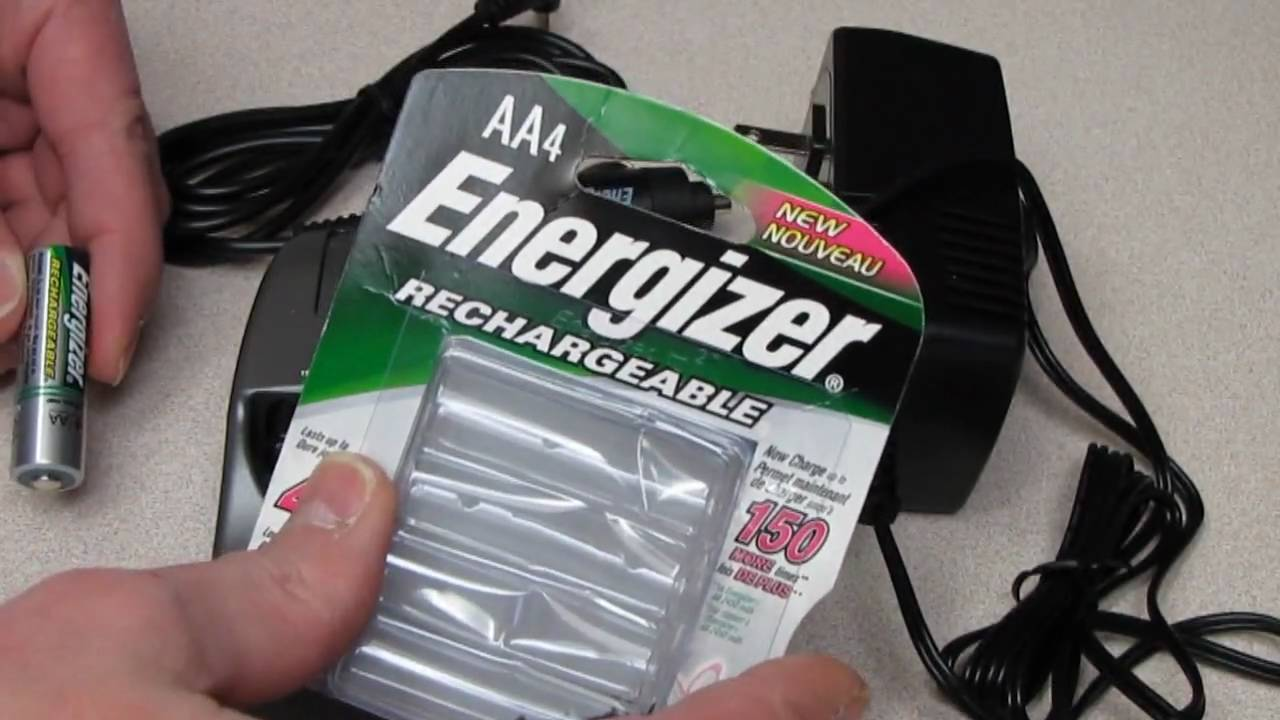 Todays AA Energizer Rechargeable NIMH Batteries