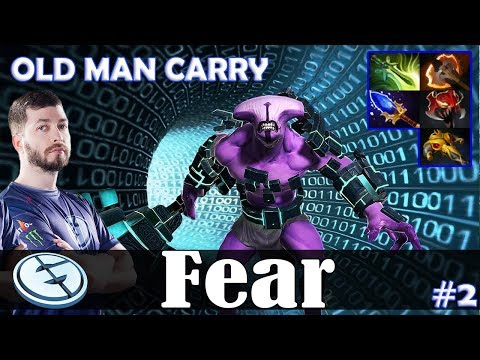 Fear - Faceless Void Safelane | OLD MAN CARRY | Dota 2 Pro MMR Gameplay #2