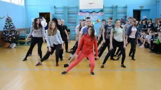 9Б последние спортивные танцы((( школа 33 , Орел