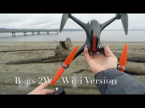 Practice Drone Video: Bugs 2W Quadcopter as salwater trainer