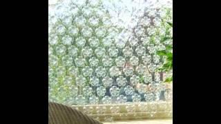 как сделать шторы из пластиковых бутылок своими руками