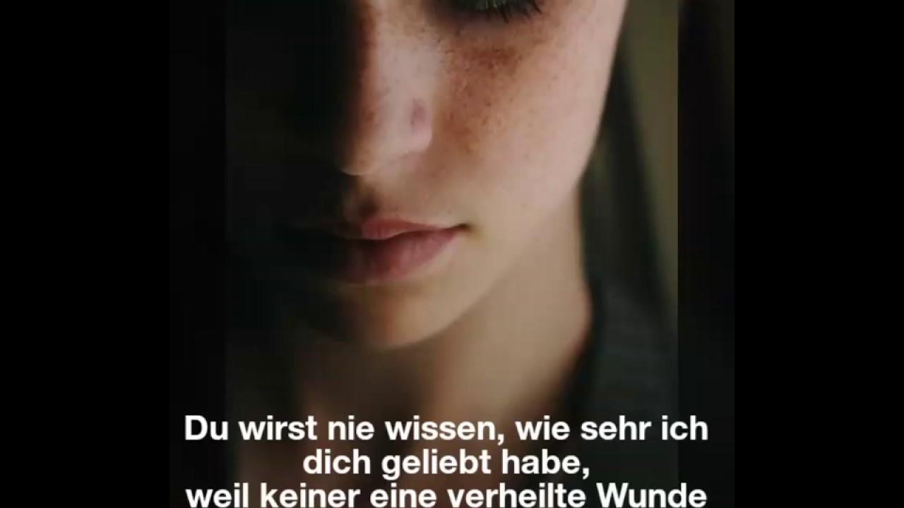 Traurige Spruche Zum Nachdenken Fur Liebeskummer Youtube