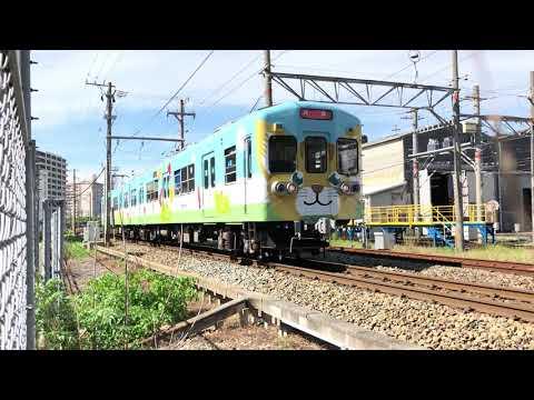 【西鉄電車】さんくすしんぐう 西鉄600形 604 多々良車両基地2(20200615)