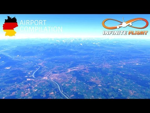 Infinite Flight GLOBAL - German Airports Compilation