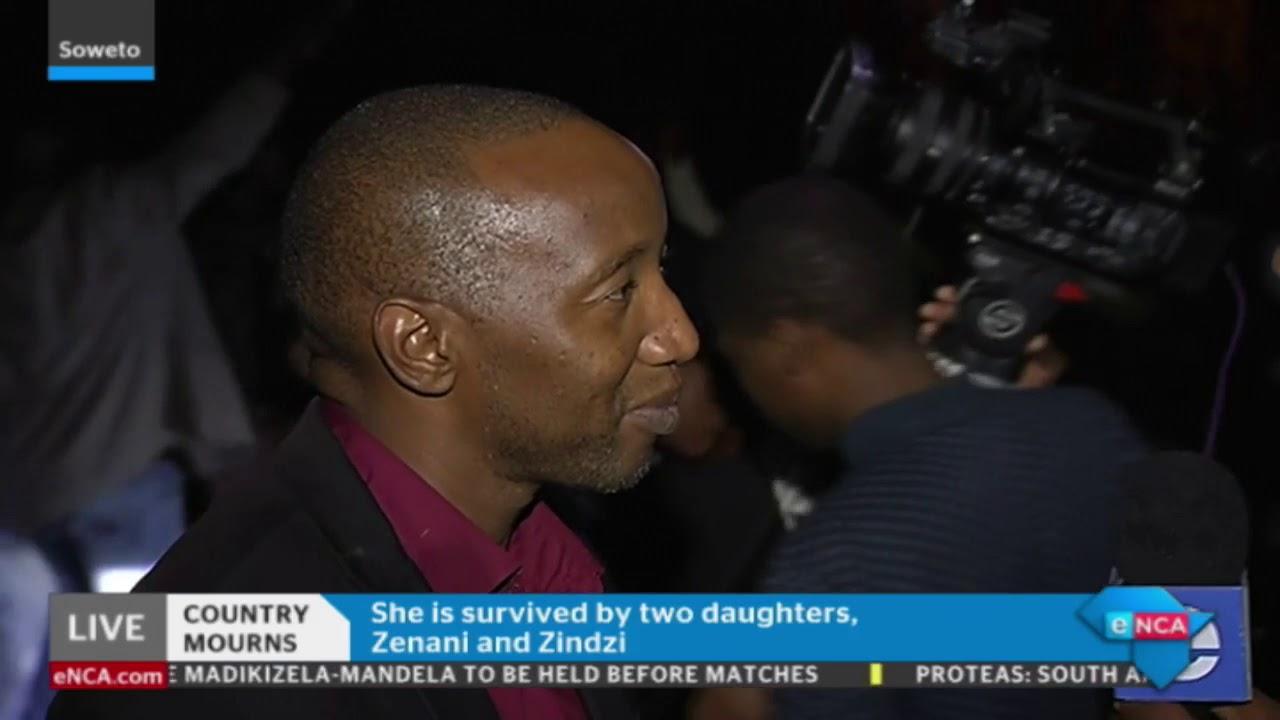 eNCA's Vuyo Mvoko and Thulasizwe Simelane speak on Tributes to Winnie Madikizela-Mandela