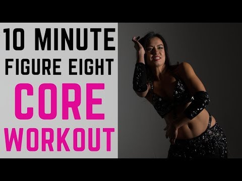 10 minute FIGURE EIGHT WORKOUT for a strong CORE