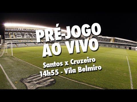Santos x Cruzeiro | PRÉ-JOGO AO VIVO | Brasileirão (28/05/17)