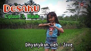 Desaku Yang Kucinta Dengan Lirik || Lagu Desaku Ciptaan L. Manik - Lagu Tematik