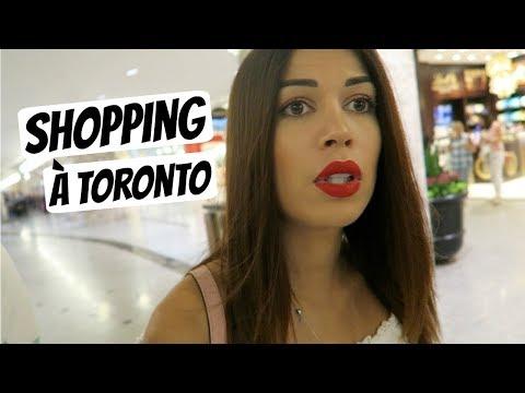 Shopping à Toronto !!!