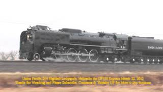 Union Pacific 844 Highball Lodgepole