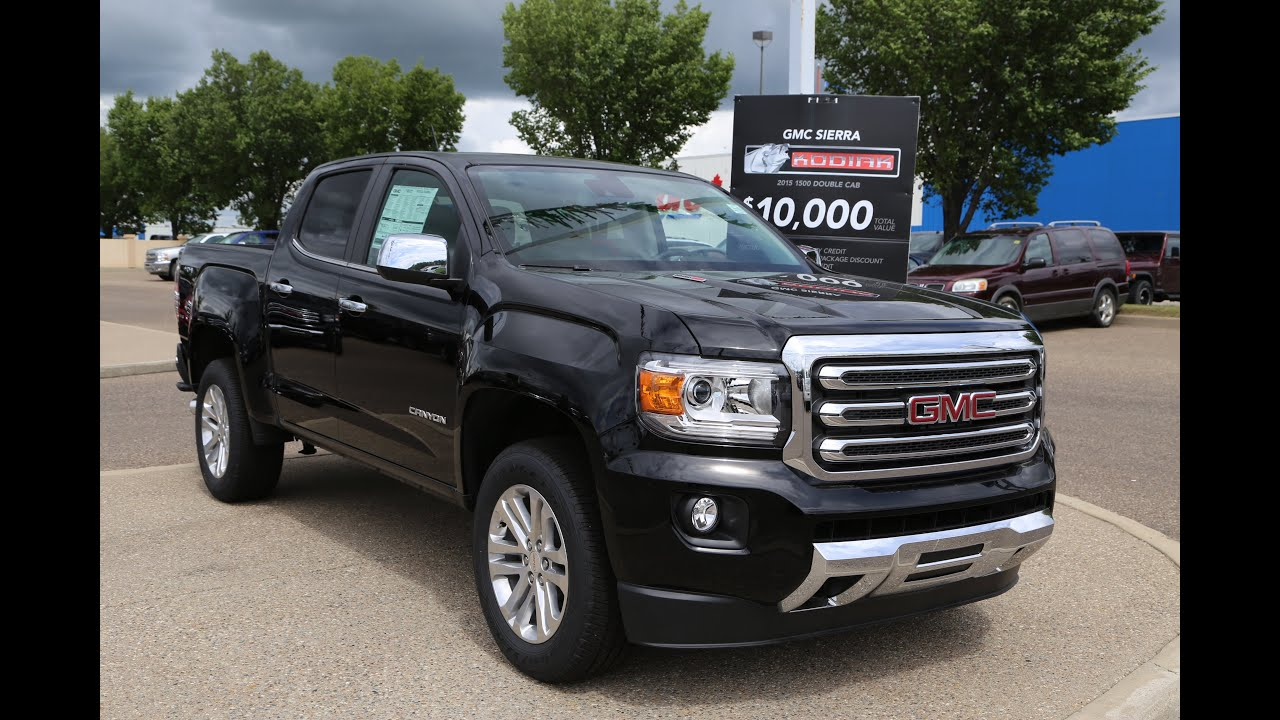 brand new 2016 gmc canyon slt diesel for sale in medicine hat ab youtube. Black Bedroom Furniture Sets. Home Design Ideas