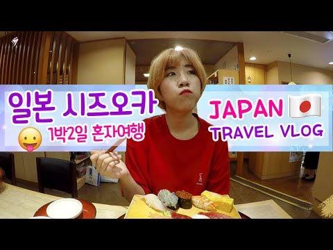 [VLOG] 시즈오카 1박2일 여자 혼자여행 / Japan Travel Vlog Shizuoka | 제씨 TryThis2that
