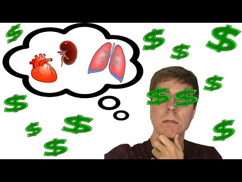 SELLING ORGANS FOR $1,000,000