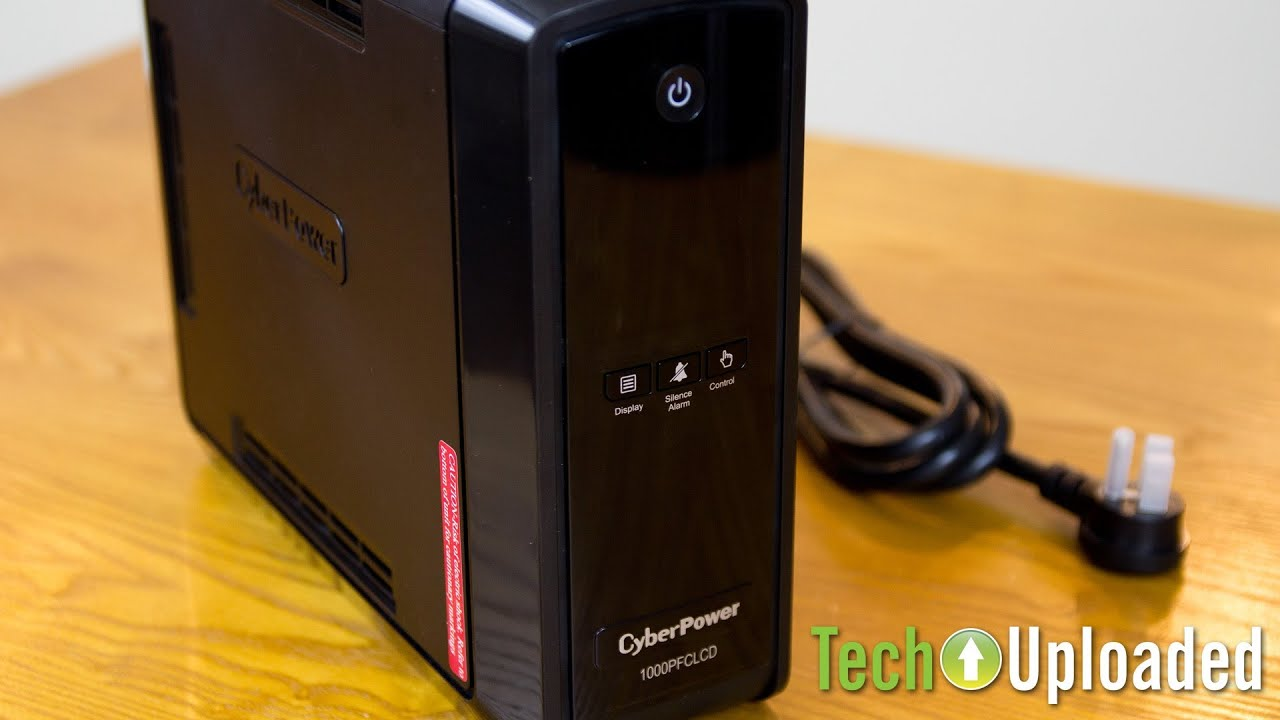 CyberPower 1000PFCLCD UPS overview and runtime test