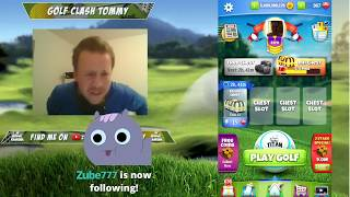 Golf Clash stream - Killed it on T11! Basic ball etc...