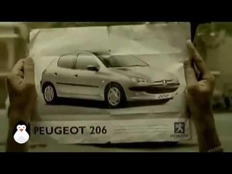 Peugeot 206 advert: The Sculptor