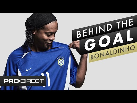 Ronaldinho Brazil Vs England World Cup 2002 | Behind The Goal