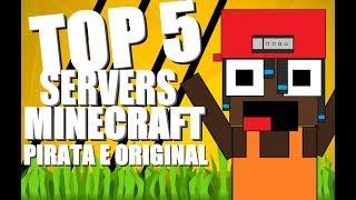 TOP 5 SERVIDORES DE FULLPVP! (Pirata & Original) 1.7 1.8 1.9 1.10 1.11 1.12