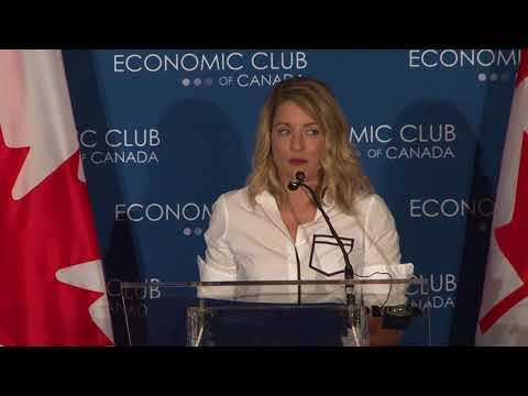 Minister Joly - Creative Canada  Speech / Ministre Joly - Discours Canada créatif