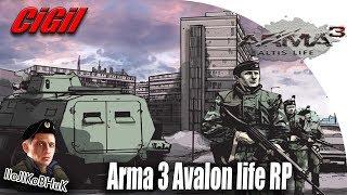 Arma 3 Avalon life RP CiGi - Охота на Спарту