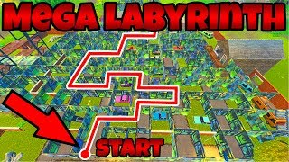 Neuer LABYRINTH MODUS in Fortnite! | (Labyrinth Battle) | Fortnite Battle Royale