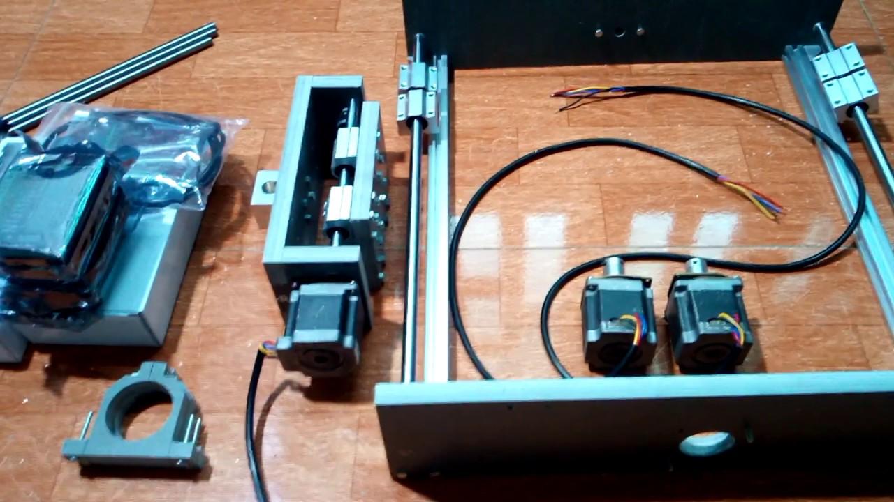 Giới Thiệu Máy Mini 500×500 Phiên bản nâng cấp Vitme T10 và spindle 500w