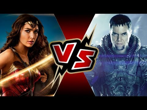 Wonder Woman (DCEU) VS General Zod (DCEU) | BATTLE ARENA