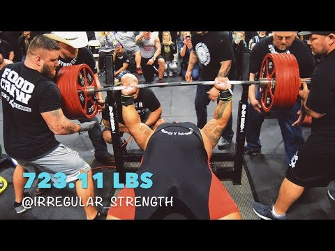 JULIUS MADDOX ATTEMPTS TO BREAK THE AMERICAN RECORD! 700+ BENCH PRESS!