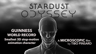 STARDUST ODYSSEY - 3mm Tiny Characters. Guinness World Record (official)
