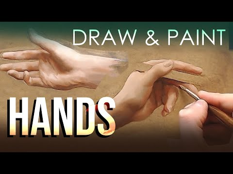 How to Draw and Paint HANDS