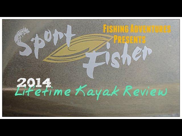 Lifetime Fishing Kayak