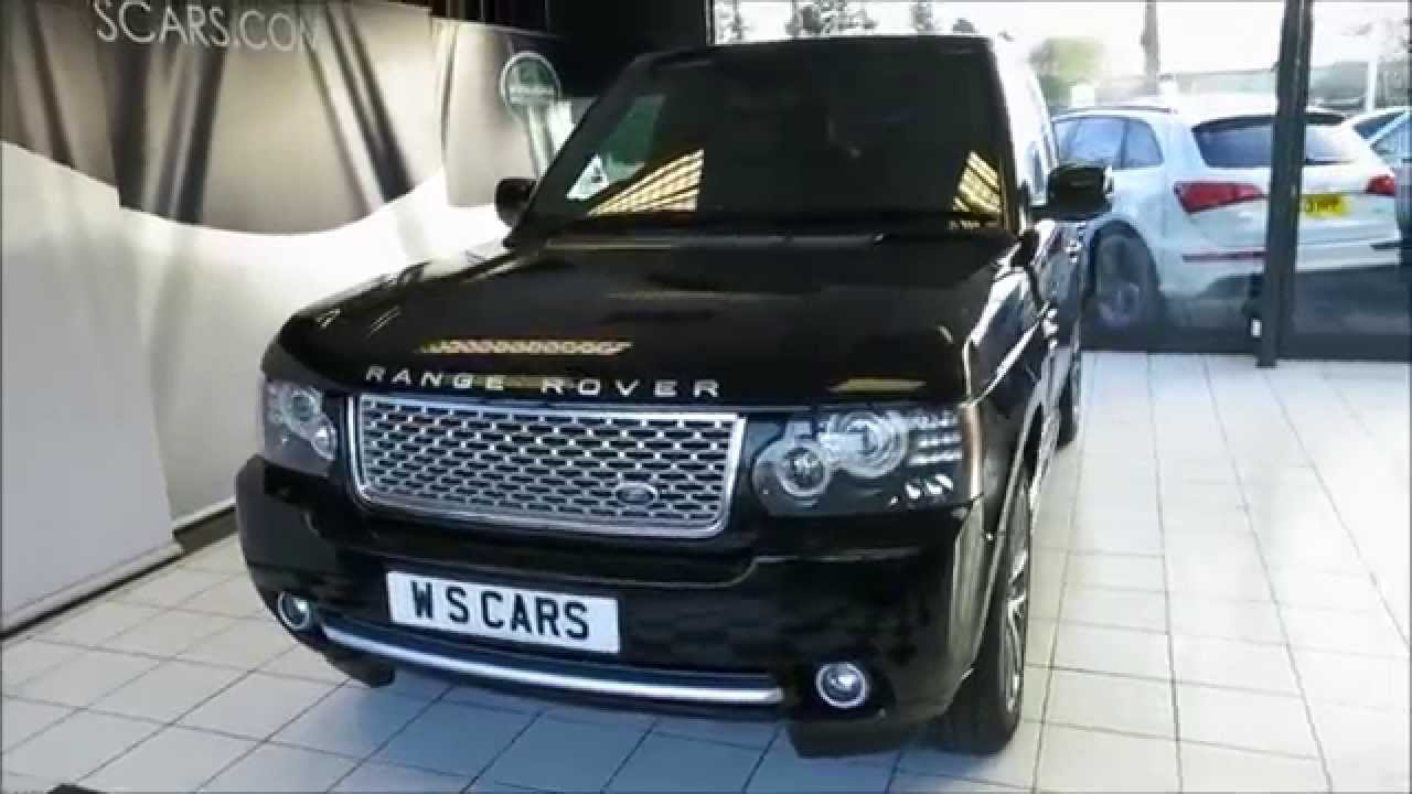 Land Rover Range Rover Autobiography Black Edition - Rear ...