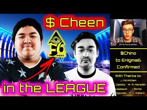 CHINO in the League!   Enigma6 Roster Change   CWL Fort Worth Rostermania   CoD BO4 Competitive