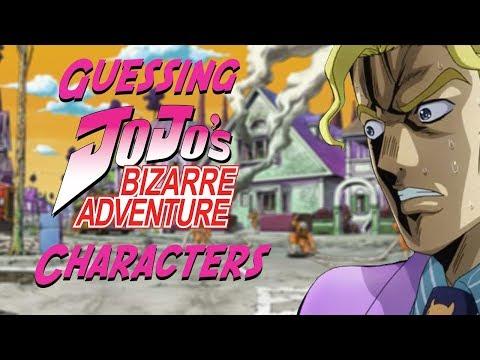 Guessing JoJo's Bizarre Adventure Characters (ft. Nem)