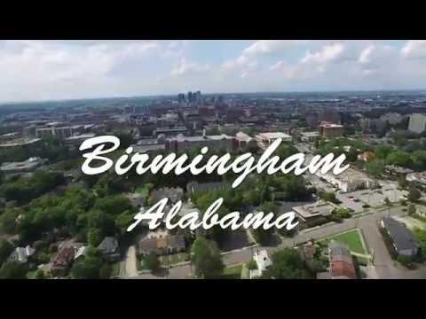 Phantom 3 Drone over Birmingham Alabama (Vulcan, Sloss Furnaces)