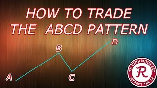 HOW TO TRADE the Bearish ABCD Pattern! Works in the Cryptocurrency Markets!