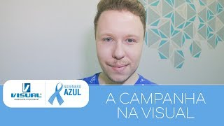 CAMPANHA NOVEMBRO AZUL | Visual Assessoria