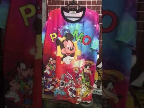 Áo Thun Thái, Đầm Thái 3D Giá Sỉ Siêu Rẻ Tại HaiHaiShop