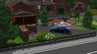 Sims 3 house building - luxury mansion