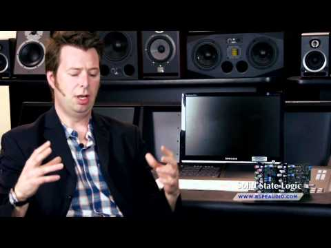 Solid State Logic (SSL) Design Philosphy With Jim Motley - RSPE Audio Designer's Perspective