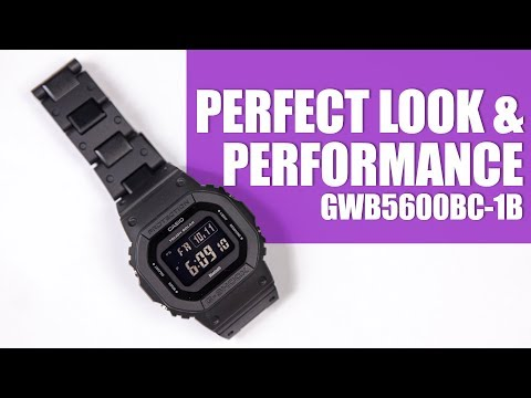 PERFECT LOOK & PERFORMANCE - G-SHOCK GW-B5600BC-1B - UNBOXING, SPEC & MOBILE LINK DEMO
