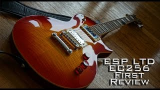 ESP LTD EC256 Guitar Review and Sound Clips with Jay Parmar