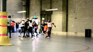 Treasure Valley Roller Girls Black and White Scrimmage (Video 14)